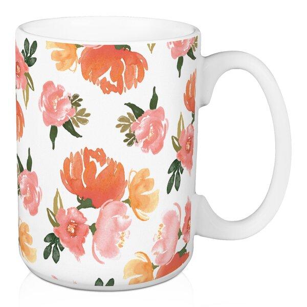 Orosco Floral Coffee Mug by Winston Porter