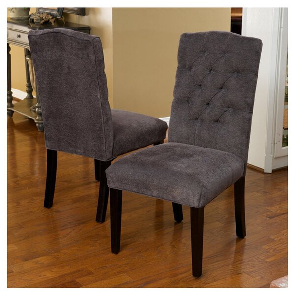#2 Rosewood Upholstered Dining Chair (Set Of 2) By Laurel Foundry Modern Farmhouse Coupon