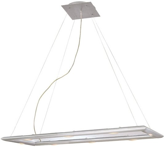 Forma 6-Light Square/Rectangle Chandelier by Wildon Home ®