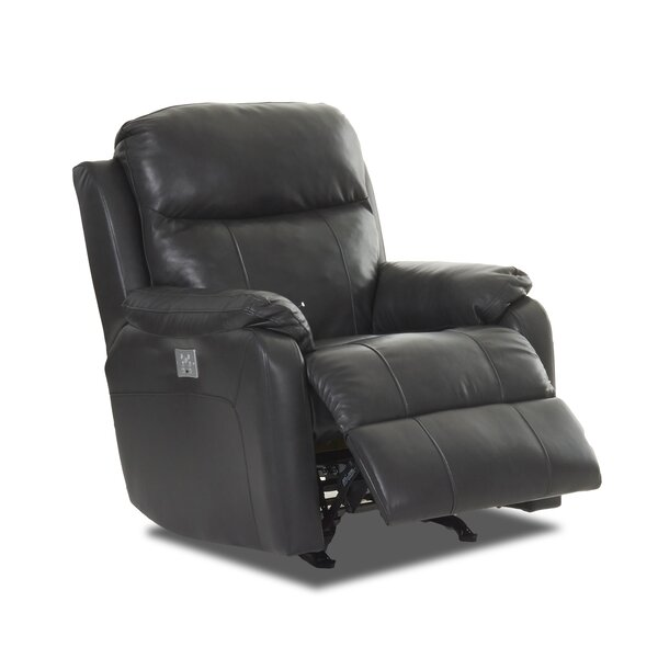 Torrance Foam Seat Cushion Recliner with Power Adjustable Headrest by Red Barrel Studio