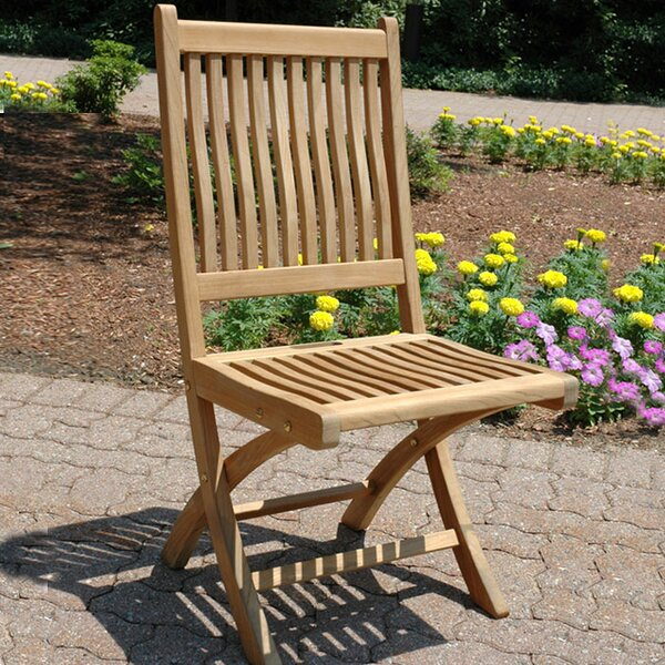 Rockport Teak Patio Dining Chair (Set Of 2) By Regal Teak