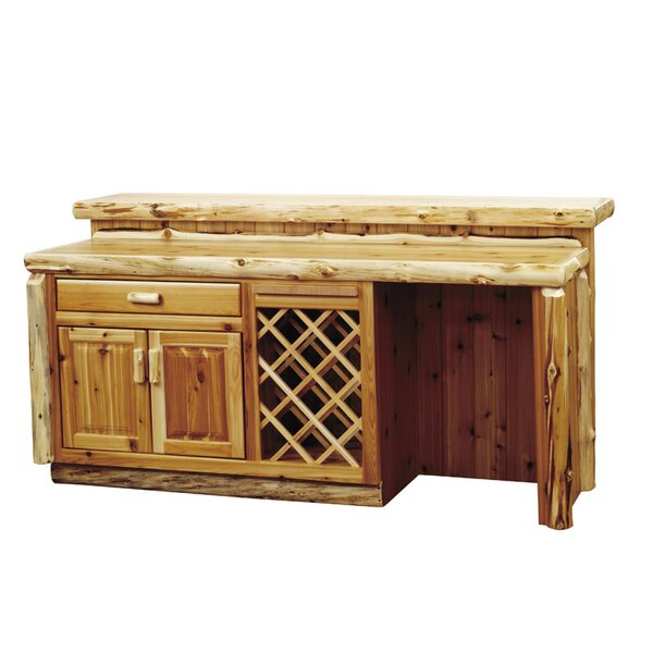 Lytle Bar with Wine Storage