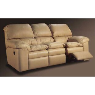 Catera Leather Reclining Sofa Omnia Leather