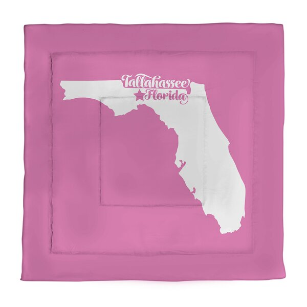 Tallahassee Florida Single Reversible Comforter