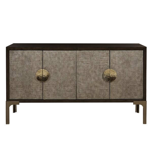 Geo 63.62'' Wide Credenza by World Menagerie World Menagerie