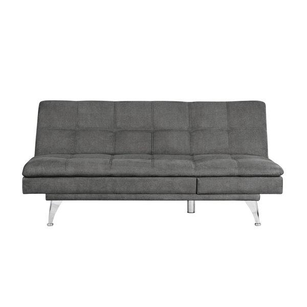Ozzy Convertible Sofa by Wrought Studio Wrought Studio