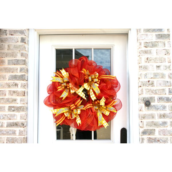 Pumpkin Spice 27 Wreath by The Holiday Aisle