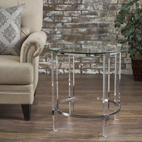 Aleah End Table by Ivy Bronx
