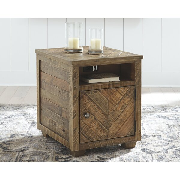 Jessamine End Table With Storage By Gracie Oaks