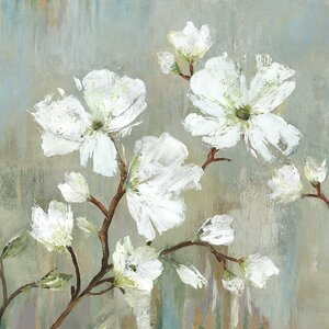 'Sweetbay Magnolia I' Painting Print by Three Posts