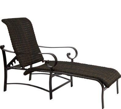 Belden Chaise Lounge by Woodard