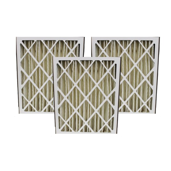 Lennox Merv Replacement Air Filters Fit (Set of 3) by Crucial