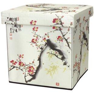 Cherry Blossom Storage Ottoman