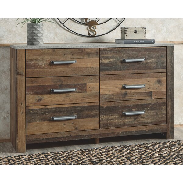 Fairfax 6 Drawer Double Dresser by Foundry Select