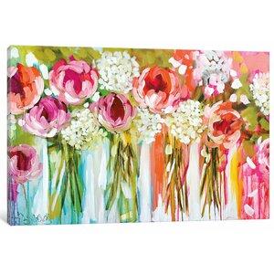 'Tangerine Tango' Painting Print on Canvas by Willa Arlo Interiors