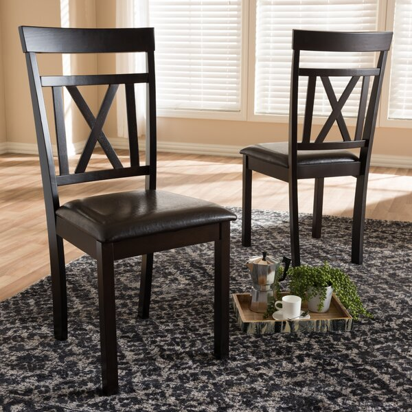 Fells Solid Wood Dining Chair (Set of 2) by Winston Porter