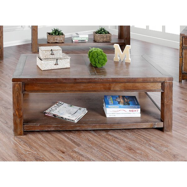 Caius Coffee Table by Millwood Pines Millwood Pines