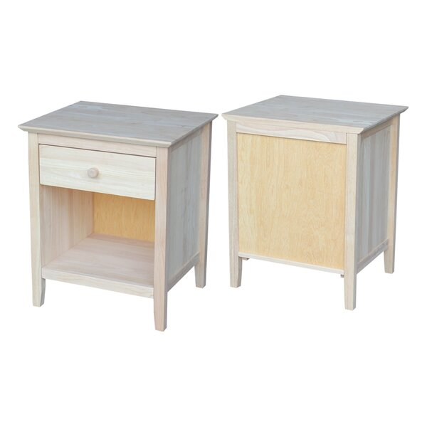Review Sommerville 1 Drawer Nightstand