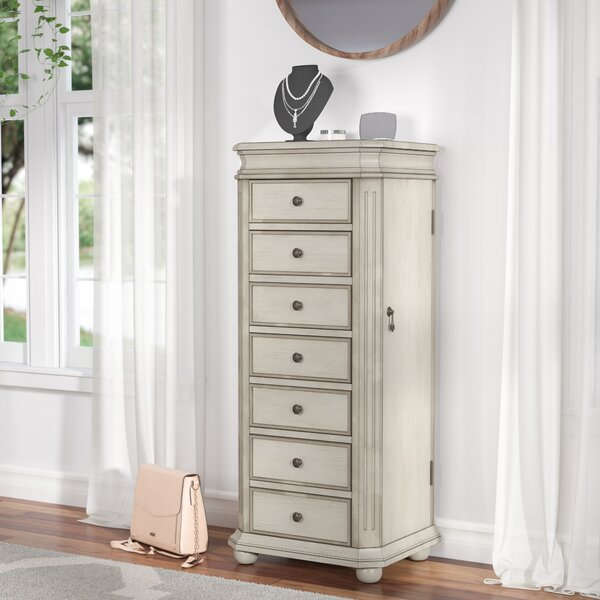 Rayane Free Standing Jewelry Armoire by Lark Manor