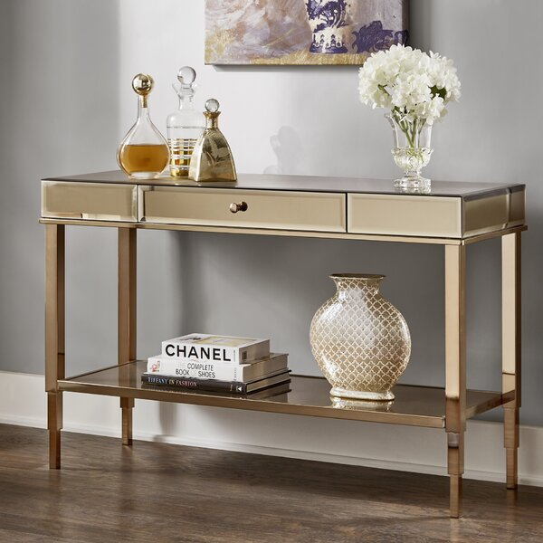 Calisto Mirrored Console Table by Joss & Main