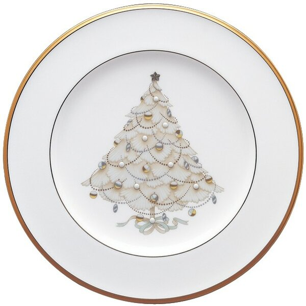 Palace Christmas Gold 8.5 Holiday Accent Plate (Set of 4) by Noritake