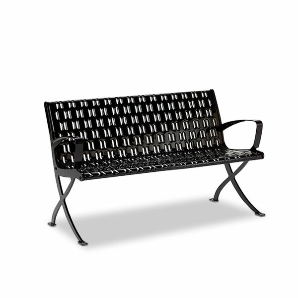 Cosmopolitan Steel Park Bench by Anova