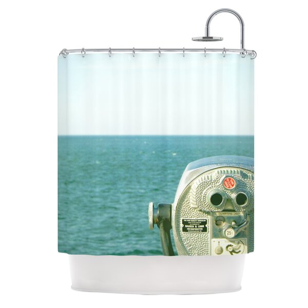 Ocean View Shower Curtain by KESS InHouse