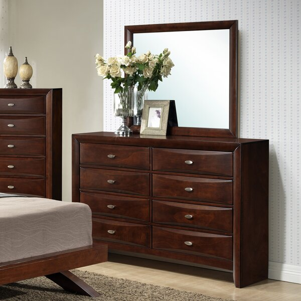 Alidge 8 Drawer Double Dresser With Mirror By Grovelane Teen by Grovelane Teen Herry Up