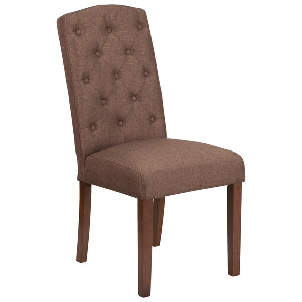 Rotterdam Upholstered Dining Chair by Charlton Home