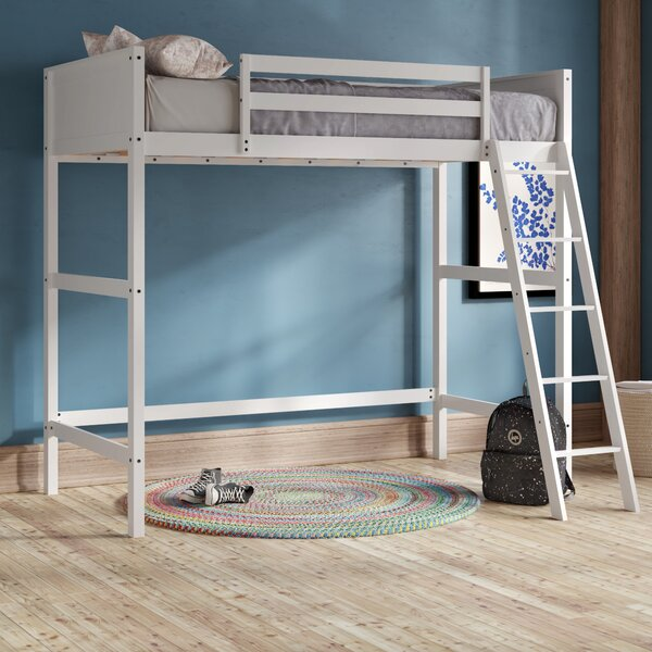 Alicea Twin Loft Bed by Harriet Bee