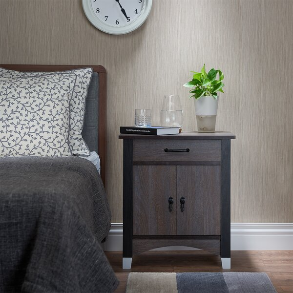 Finis 1 Drawer Nightstand by Red Barrel Studio