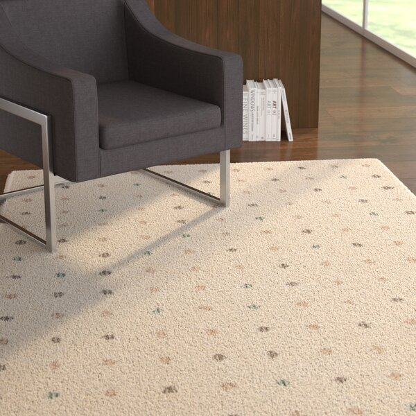 Hatley Shag Cream Area Rug by Latitude Run