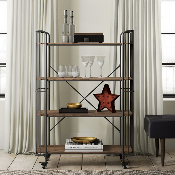 Kendleton 4 Tier Bar Cart by Greyleigh Greyleigh