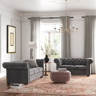 Esai 2 Piece Standard Living Room Set by Kelly Clarkson Home