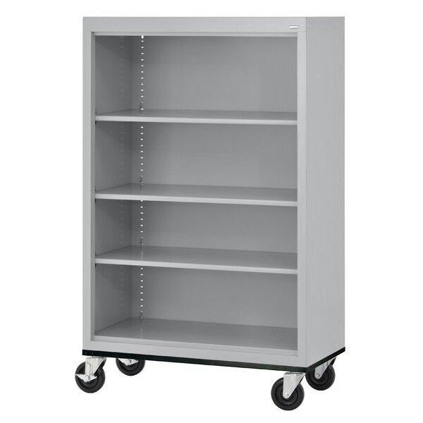 Mobile Standard Bookcase by Sandusky Cabinets