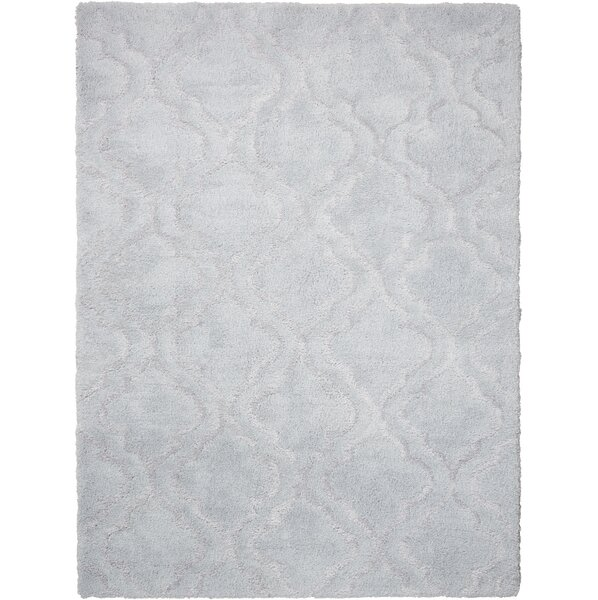 Hand-Tufted Light Gray Area Rug by Kathy Ireland Home
