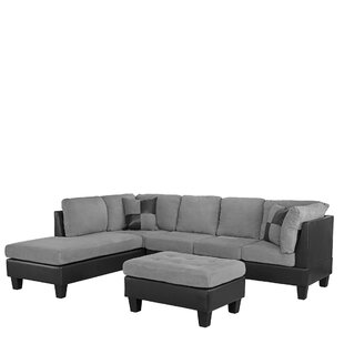 Dehoyos Reversible Sectional with Ottoman