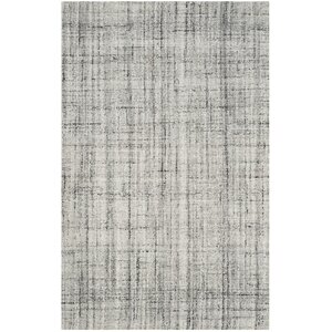 Dustin Hand-Tufted Gray Area Rug