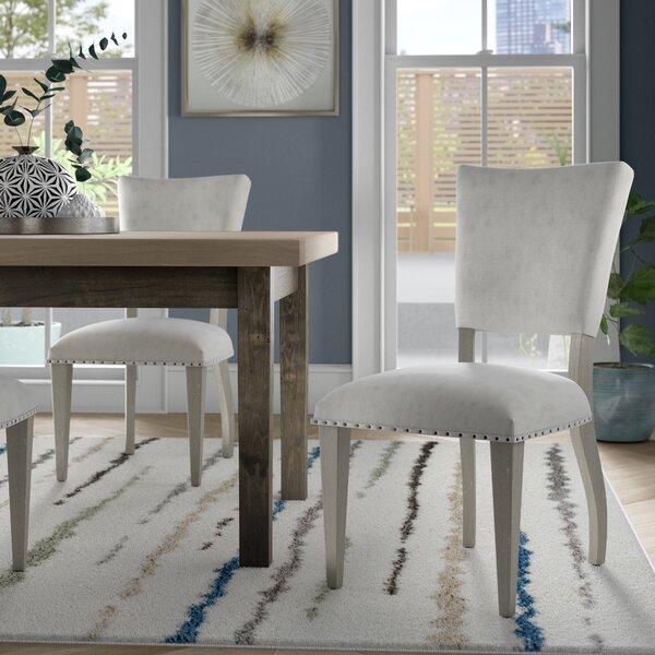 Barkhampstead Graystone Side Chair (Set of 2) by Brayden Studio