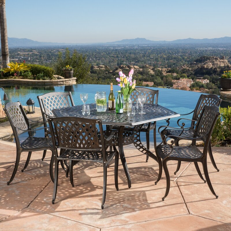 5 Piece Belmont Dining Room Collection: Belmont 7 Piece Dining Set & Reviews