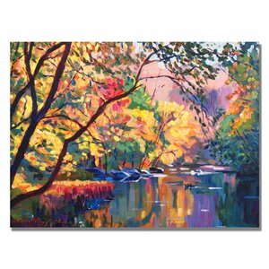 'Color Reflections' Painting Print on Wrapped Canvas by Trademark Fine Art
