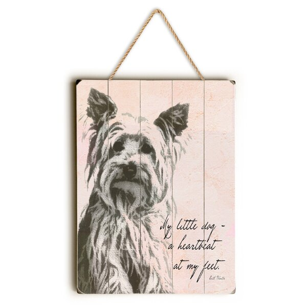 My Little Dog Graphic Art by Red Barrel Studio