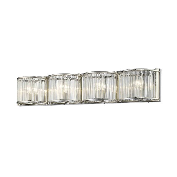 Caledonia 4-Light Bath Bar by House of Hampton