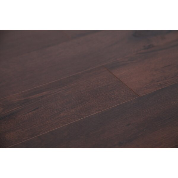 Country 47.85 x 4.96 x 12mm Laminate Flooring in Brown Oak by Dekorman