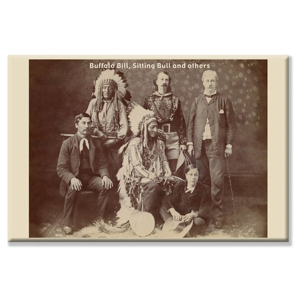 Buffalo Bill, Sitting Bull, and Others Photographic Print on Wrapped Canvas by Buyenlarge