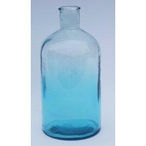 Bottle Recycled Glass Floor Vase