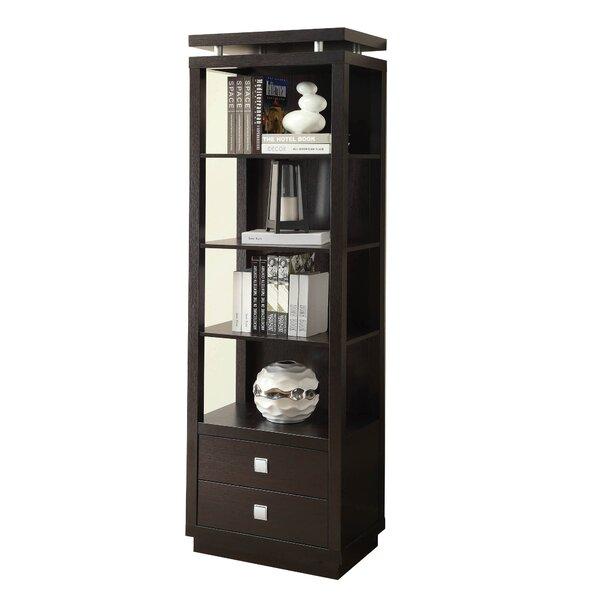 Carlyn Wooden Standard Bookcase By Red Barrel Studio