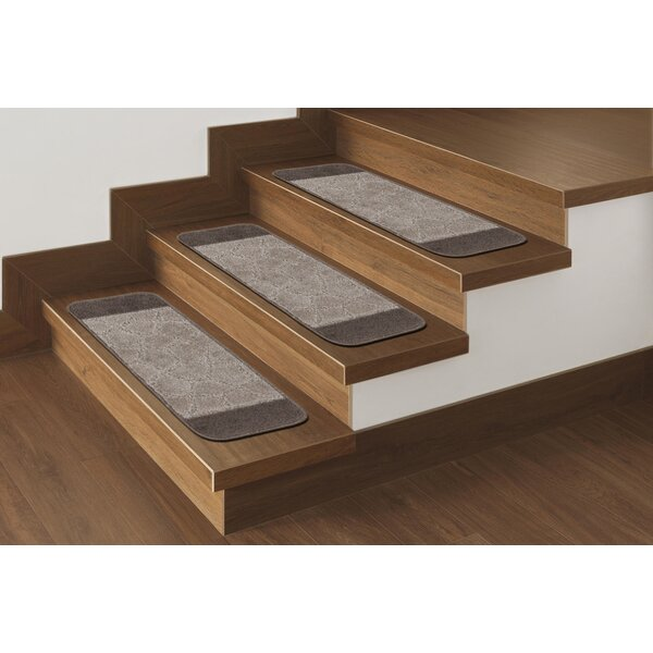 Carreras Brown Stair Tread (Set of 7) by Andover Mills