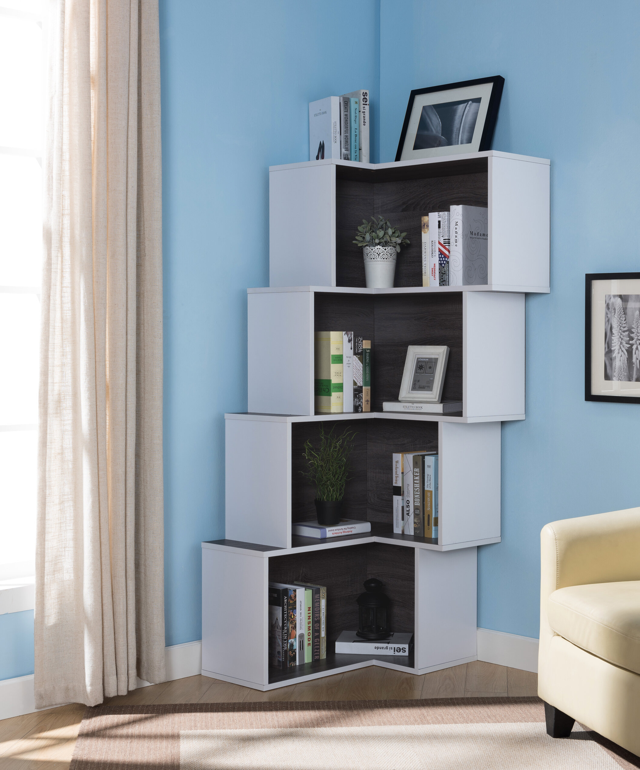 Farragutt Corner Bookcase