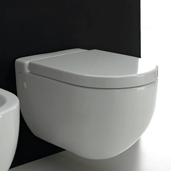 One Evolution Elongated Toilet Bowl by WS Bath Collections
